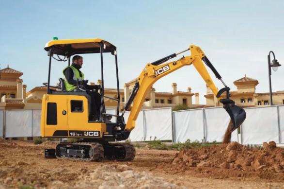 JCB 16C digger plant hire