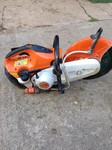 Stihl disc cutter Marvall Services plant hire royston